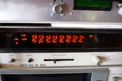 HP 5340 Frequenz Counter