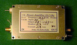 10 GHz Linear 4 - 10 Watt